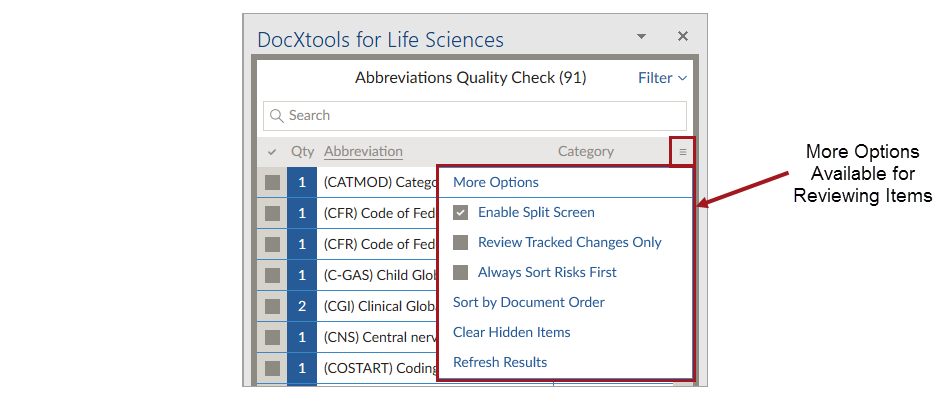 Using DocXtools for Life Sciences Versions 9 0–11 2 0